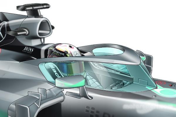 Болиды Формулы-1 получат защиту пилота
