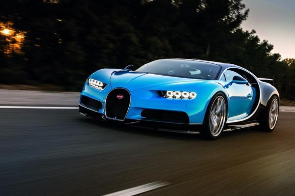 Bugatti Chiron рассекречен