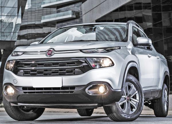 Fiat Toro: нетипичный пикап