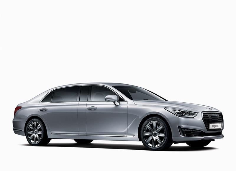 Hyundai Genesis G90 стал лимузином
