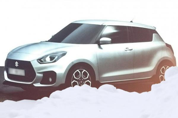 В дизайне Suzuki Swift преобладают плавные линии