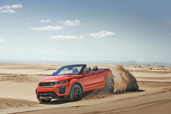 Range Rover Evoque Convertible: имидж - все