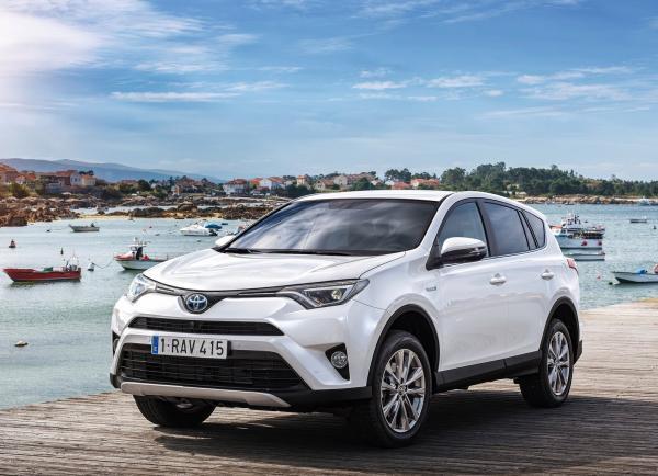 Полиция получит гибриды Toyota RAV4