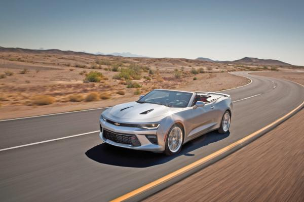 Chevrolet Camaro Convertible: классический американский кабриолет