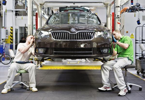 В марте производство автомобилей в Украине выросло на 70%