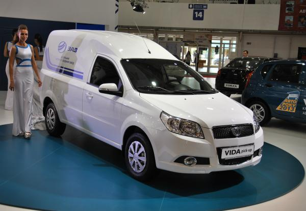 Линейку ZAZ расширит Vida Pick-up
