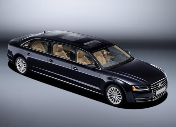 Audi A8 стал лимузином