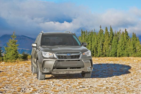 Subaru Forester: обновление