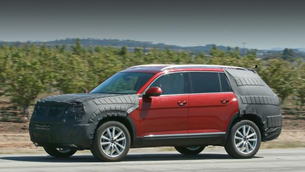 Volkswagen готовит большой вседорожник