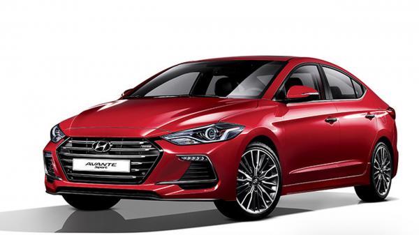 Заряженный Hyundai Elantra Sport