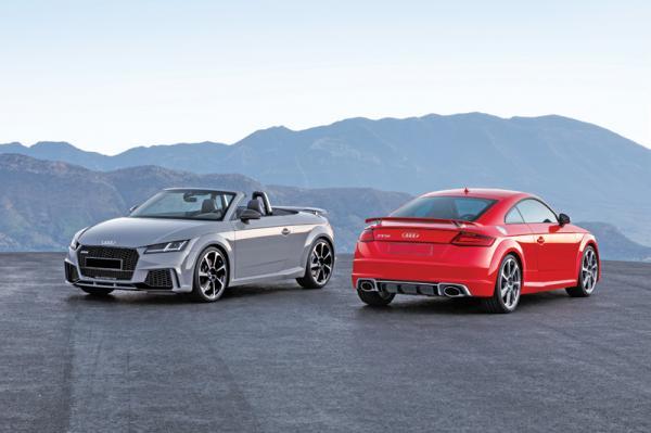 Audi TT RS: новый флагман в линейке