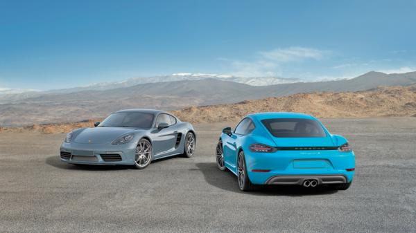 Porsche 718 Cayman: обновление со сменой названия