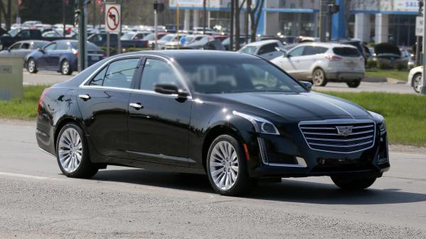 Cadillac CTS обновят в стиле старшего брата CT6