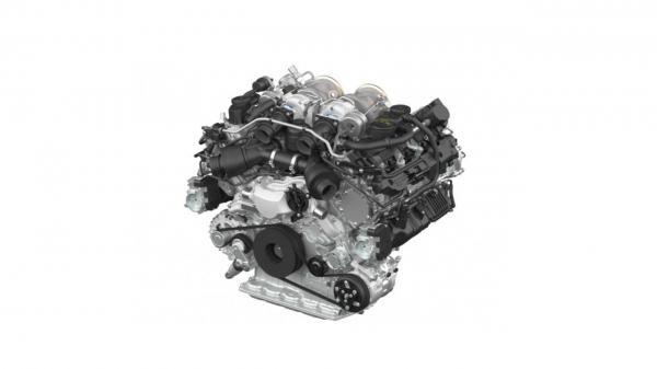 Турбомотор объемом 4,0 л развивает 550 л. с.