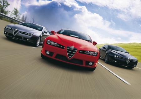 Alfa Romeo Brera S: туристическое купе стало более спортивным
