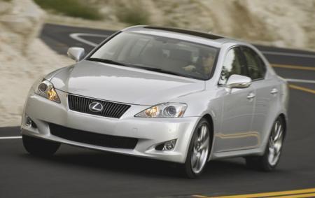 Lexus IS: плановое обновление