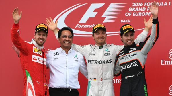 Формула-1: Нико Росберг побеждает в Баку