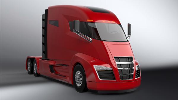 Гибридный грузовик Nikola One поступает в производство