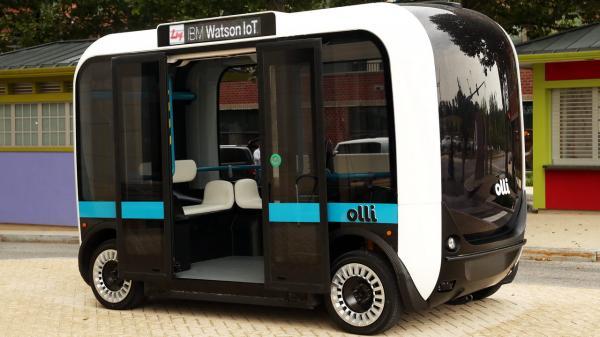В Вашингтоне испытывают автономный мини-вэн