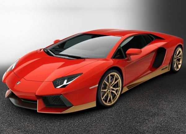 Lamborghini Aventador к 50-летию Miura