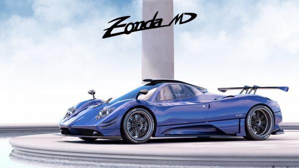 Эксклюзивный Pagani Zonda 760MD