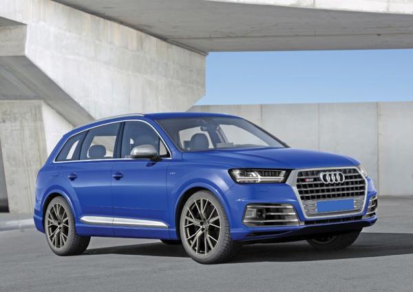 Audi SQ7 TDI: первопроходец