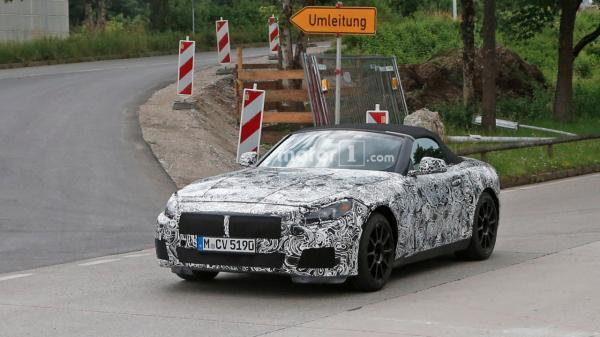 BMW Z5 замечен на тестах