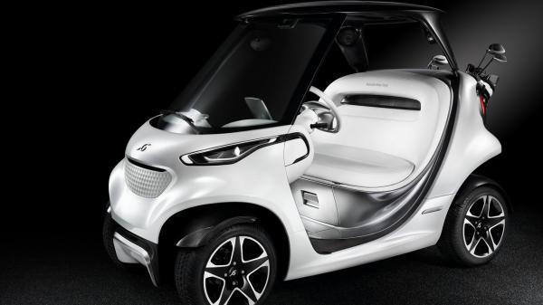 Mercedes-Benz создали гольф-кар