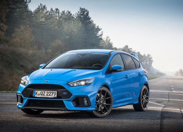 Двигатель Ford Focus RS развивает 375 л. с.