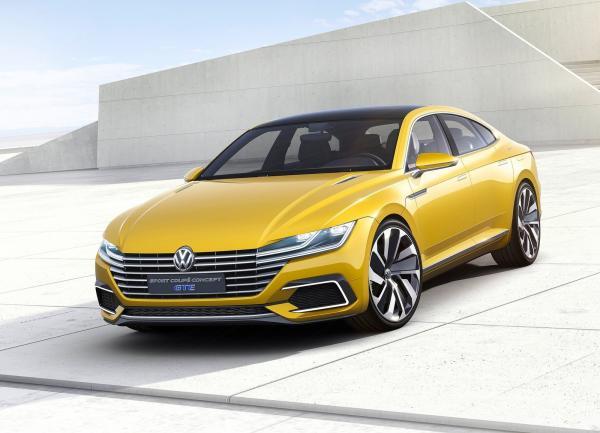 Volkswagen CC представят в 2017 году