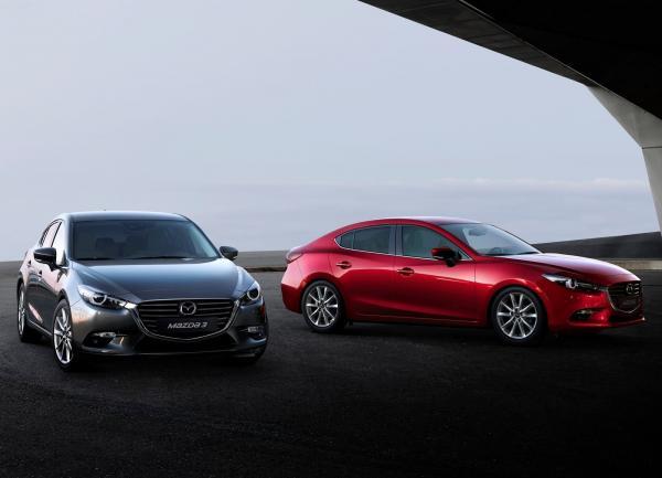 Mazda 3: легкое обновление