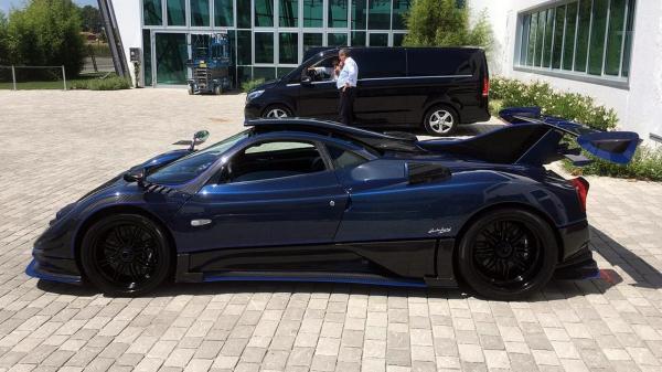 Pagani выпустили купе Zonda by Mileson