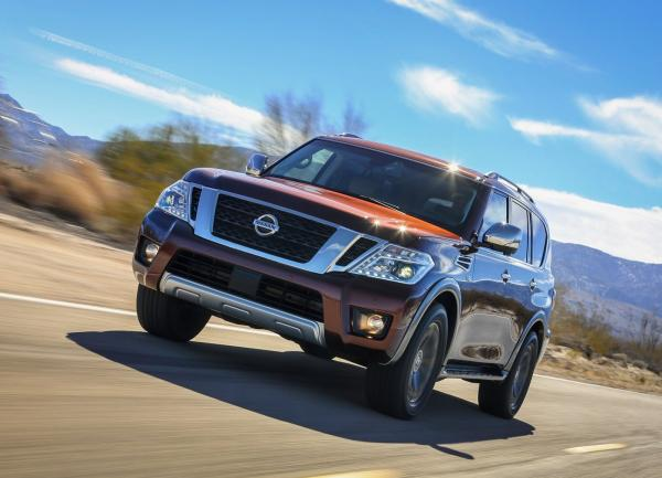 Nissan Armada: знакомый незнакомец