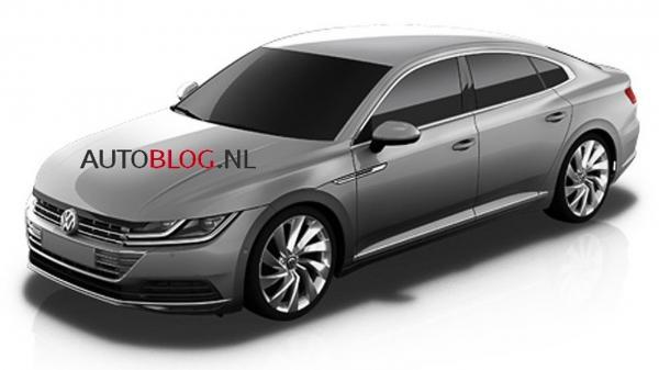 Volkswagen CC сбросил камуфляж