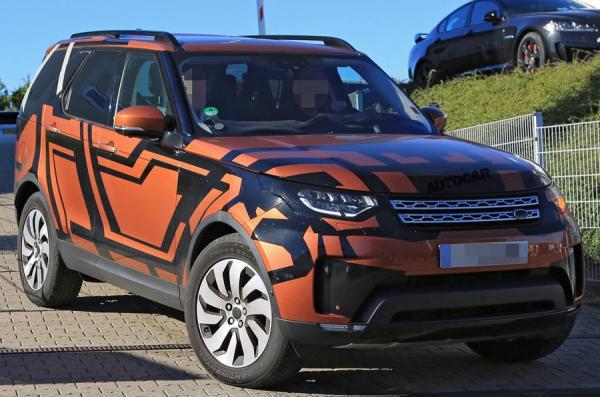 Land Rover Discovery запечатлен перед премьерой