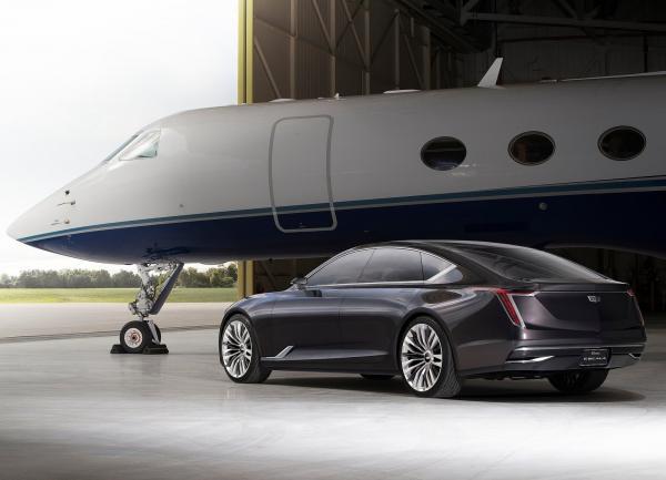 Cadillac Escala: предвестник нового флагмана