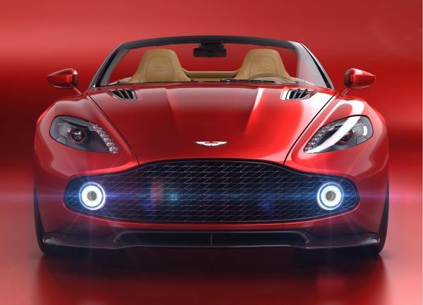 Aston Martin Vanquish Zagato Volante: настоящий эксклюзив