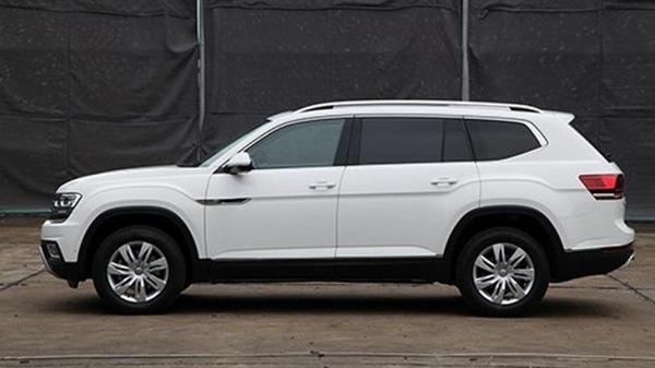 В Китае замечен Volkswagen Terramont