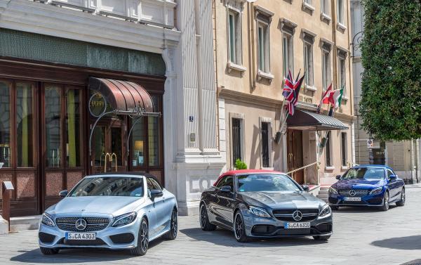 Mercedes-Benz C-Class Cabriolet: первенец