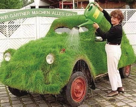 Озелененный автомобиль