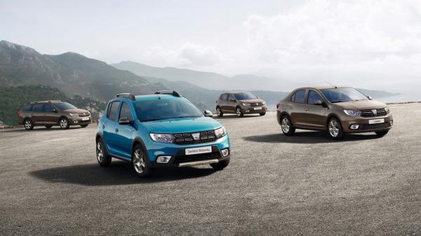 Renault Logan и Sandero обновлены