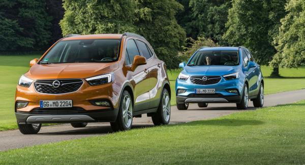 Opel Mokka X: новые дизайн и имя