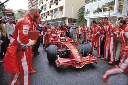 F1: Дождевое безумие в Монако