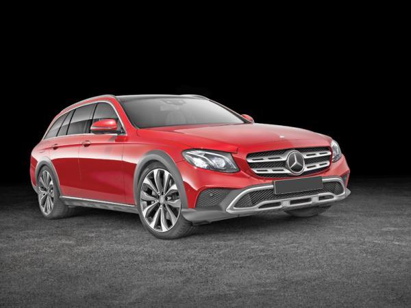 Mercedes-Benz E-Class All-Terrain:  во вседорожном стиле