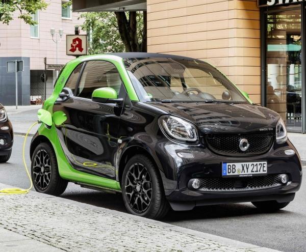 Новый электромобиль Smart заряжается за 45 минут
