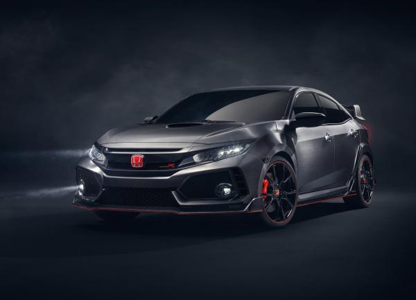 Новый Honda Civic Type R появится в 2017 году