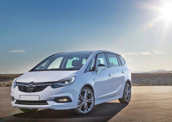 "Opel Zafira: новое ""лицо"" мини-вэна"