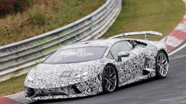 Lamborghini Huracan Superleggera покажут в Женеве