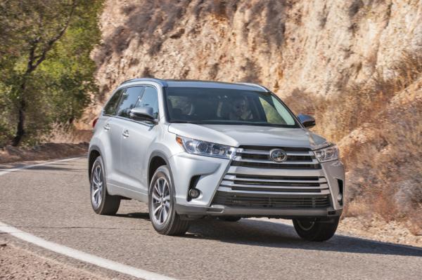 Toyota Highlander: никаких революций