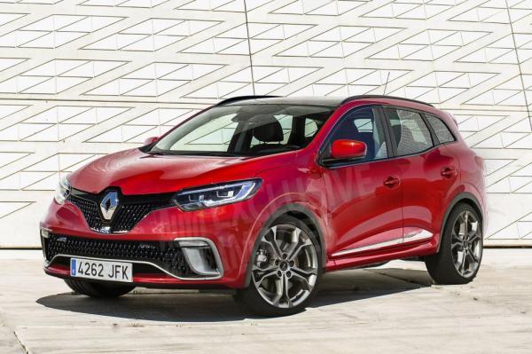 Renault Captur и Kadjar получат заряженные версии